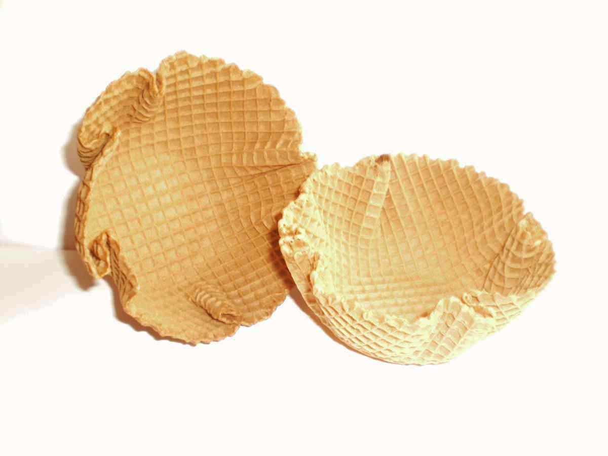 Capelinas para helados, Capelinas santa María